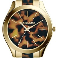 Michael Kors 'Slim Runway' Round Bracelet Watch, 42mm