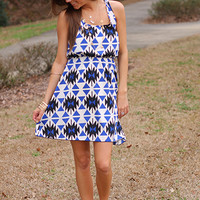 The Bermuda Dress, Royal