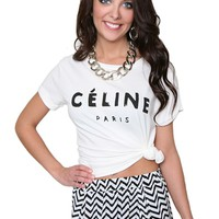 Celine or Be Seen Top
