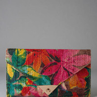PALM BAY FLORAL CLUTCH