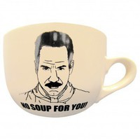 Seinfeld No Soup For You 20 oz. Mug | Seinfeld Mug - NBC Store