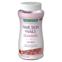 Natures Bounty Optimal Solutions Dietary Supplement for Skin and Hair - 120 Gummies