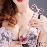 Unique Mature Sex Toy, Crystal glass dildo,masturbation sex toys G-spot stimulation mature sex supplies