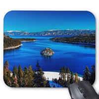 Emerald Bay, Lake Tahoe, California Mousepad