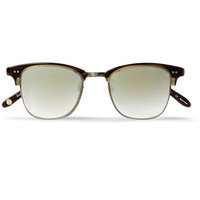 Garrett Leight California Optical - Lincoln Acetate and Stainless-Steel D-Frame Sunglasses | MR PORTER