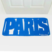 Floor mat PARIS. Welcome mat. Decor your entry. Customizable