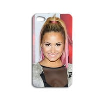 Disney Phone Case Demi Lovato iPhone Cover Cute Disney iPod Case iPhone 4 iPhone 5 iPhone 4s iPhone 5s iPod 4 iPod 5 Case Pink Phone Case