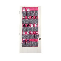 20 Pocket Shoe Organizer - Bon Bon Black