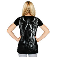 Weeping Angel V-neck Ladies' Tee