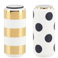 Fairmount Park Dot/ Stripe Salt & Pepper Set - kate spade new york