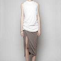 Totokaelo - Rick Owens Lilies Skirt with Side Slit - $171.50