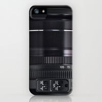 Camera Lens iPhone & iPod Case by Nicklas Gustafsson