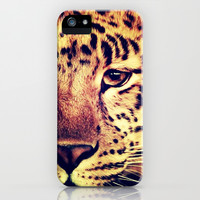 Eye of Leopard - for iphone iPhone & iPod Case by Simone Morana Cyla