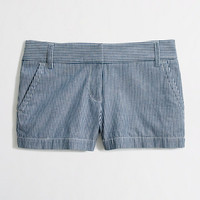 "FACTORY 3"" RAILROAD-STRIPE SHORT"