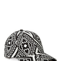 Tribal Print Baseball Cap