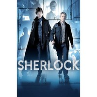Sherlock - Benedict Cumberbatch and Martin Freeman TV Poster