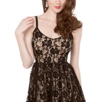 All Lace Cocktail Party Dress