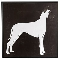Framed Great Dane Print
