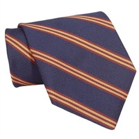 Brooks Brothers Mini Repp Striped Woven Silk Tie at Von Maur