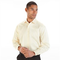 Santorelli® Slim Fit Long Sleeve Solid Dobby Shirt at Von Maur