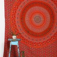 Magical Thinking Orange Medallion Tapestry - Urban Outfitters