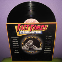 Vinyl Record Album Fast Times at Ridgemont High Original Soundtrack Double LP 1982 Teen Classic