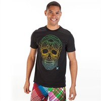 Hurley Men's Contemporary Muertokyo Skull Tee at Von Maur