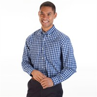 Cutter & Buck Regular Fit Long Sleeve West Seattle Checked Shirt at Von Maur