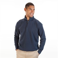 Peter Millar Heathered 1/4-Zip Pullover at Von Maur