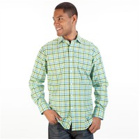 Thomas Dean Classic Fit Long Sleeve Gingham Shirt at Von Maur