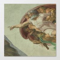 Sistine Chapel Stretched Canvas by Beautifulhomes
