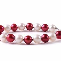 Buy Texas A&M Aggies Spirit Pearl Bracelet. Free Shipping