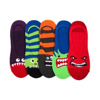 Mens Monster Fangs Liners 5 Pack