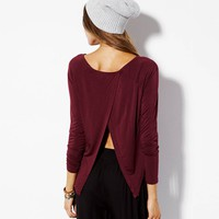 AE EFFORTLESSLY CHIC OPEN BACK T-SHIRT