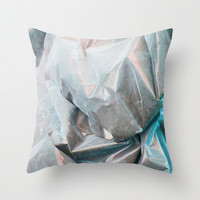 nacre Throw Pillow by austeja saffron