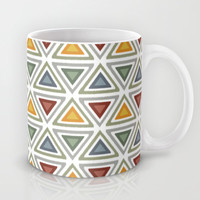 My ikat triangles Mug by Juliagrifol designs