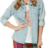BILLABONG LAUGH OUT LOUD DENIM SHIRT