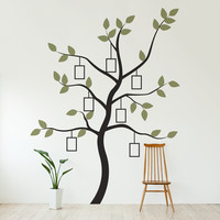 Family Tree Wall Decal with Frames