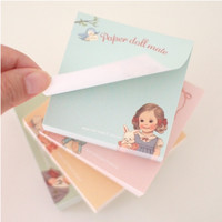 Paper Doll Notepad
