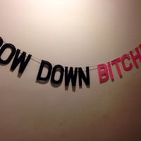 Beyoncé Bow Down Bitches Banner
