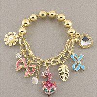 Foxy Charm Bracelet from P.S. I Love You More Boutique