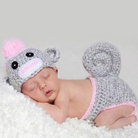 Infant Studio Fashion - Monkey Gray