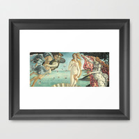 Angels and Venus  Framed Art Print by BeautifulHomes