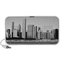 Chicago skyline speakers