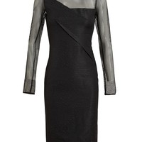 ROLAND MOURET | Animal Textured Dress | Browns fashion & designer clothes & clothing