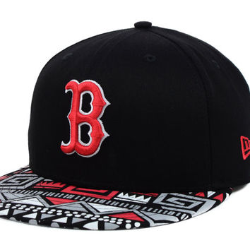 Boston Red Sox MLB Cross Colors Snapback Cap