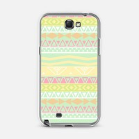 Aztec Summer Vintage Teal Pink Yellow Geo Pattern |  Design your own iPhonecase and Samsungcase using Instagram photos at Casetagram.com
