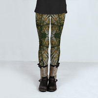 Unique Abstract Pattern by Daniel Ferreira-Leites (Leggings)