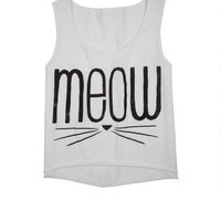 Meow Whiskers Tank -