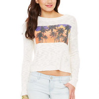 Palm Tree Sweater